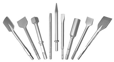 Chisel and Demolition Steel for Electric Hammers