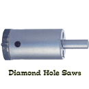 Diamond Hole Saws for Granite, Marble & Ceramic Tile