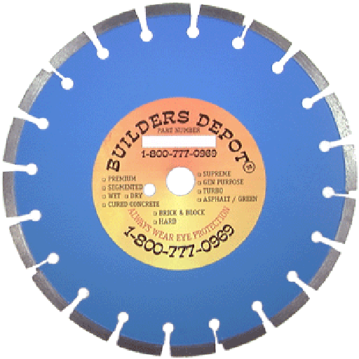 12 Quot X 125 Quot Supreme Brick And Block 12 Inch Diamond Blade
