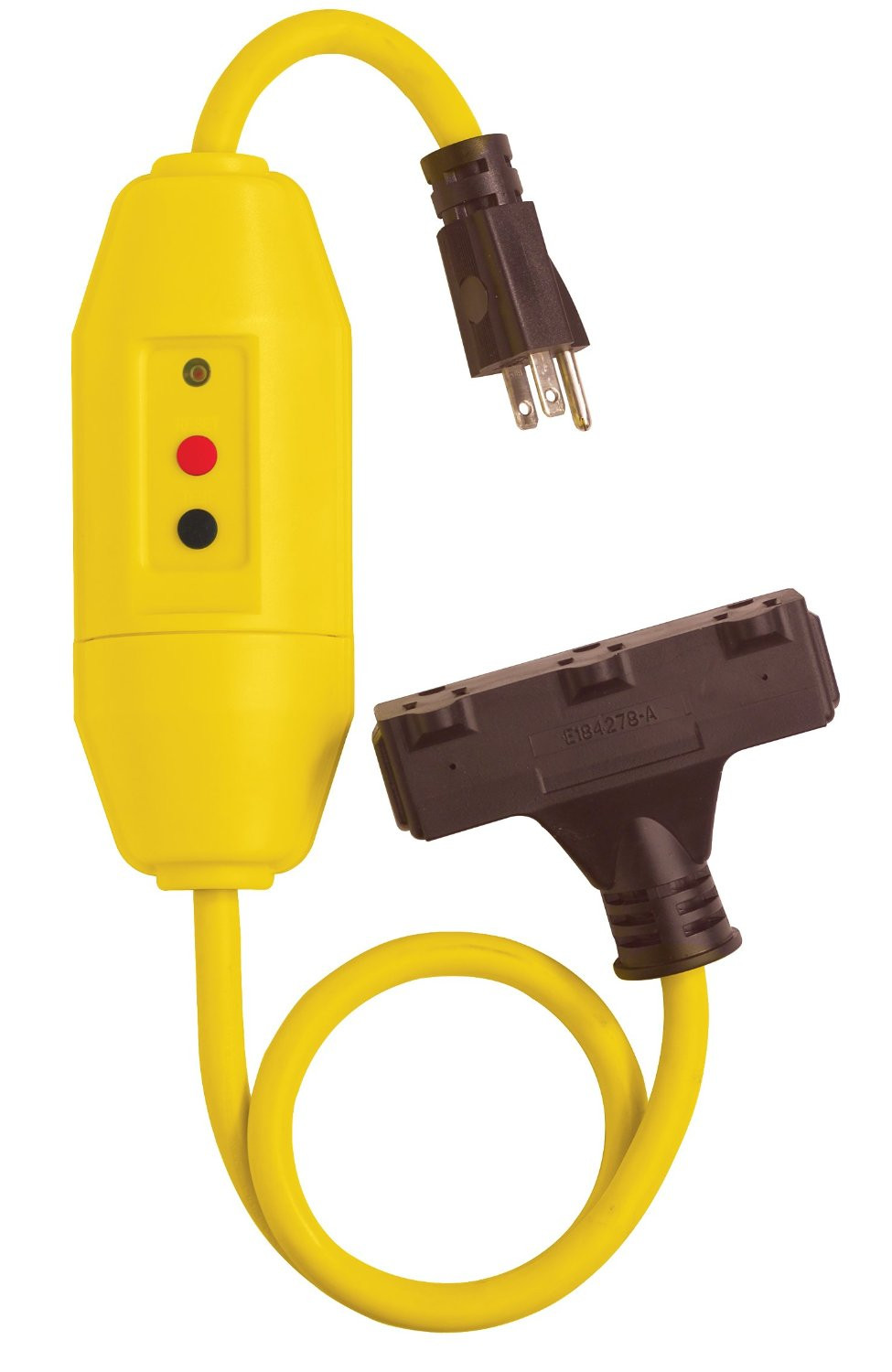 Three Way Cable : Gfci gauge wire with cord and three way power block