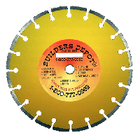 """12"""" x.125"""" Supreme Laser Welded Dry Cured Concrete Diamond Blade/low HP Saws w/1in Arbor/PH"""