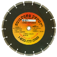 """14"""" X .125"""" Builders Depot® Hard Brick and Paver Blade (14in)"""