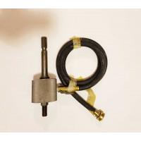 0404-0030 Spline-Drive to 5-8-11 Water Swivel Adapter for Small Diameter Diamond Core Bits