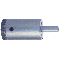 """1/2"""" Diamond Hole Saw for Tile, Marble, Granite - Complete"""