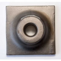 Tamper plate, 6x6 shown