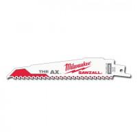 0807-0090 Milwaukee 48-00-5021 Sawzall Blade 5PK 6 x 1 x 062 5-8TPI for Wood and Demo