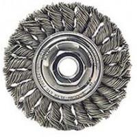 3502-0020 Weiler 13115 4in Standard Twist Wire Wheel .020 M10x1.50 AH STA-4