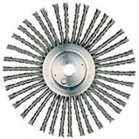 3503-0010 Weiler 94224 12in Cable Twist Wire Wheel 38 knots .035 1in AH
