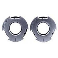 3505-0020 Weiler 03810 Metal Adapter 2in to 5-8in Arbor Adapter Hole Size