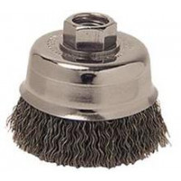 3506-0010 Weiler 13240 3in Crimped Wire Cup Brush .014 M10x1.25 AH CRA-2