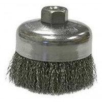 3506-0060 Weiler 14036 4in Crimped Wire Brush .020 5-8-11 AH CR-4