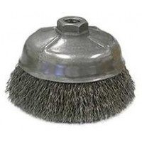 3506-0070 Weiler 14216 5in Crimped Wire Brush .020 5-8-11 AH CR-5