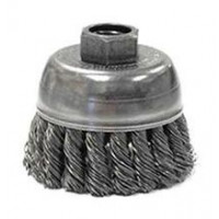 3508-0040 Weiler 13285 2-3-4 Single Row Wire Cup Brush .020 1-2-13 AH SRA-2