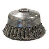 3508-0090 Weiler 12276 5in Single Row Cup Brush with Internal Nut .023 5-8-11 AH RSR-5