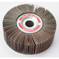 6 x 2 Abrasive Flap Wheel for Bench Grinders