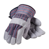Leather Work Gloves, 1 pair