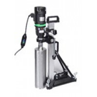 Eibenstock END130/3.1 POSV 3 Speed Hand Held Core Drill Motor & BST104 Stand Combo w/Vac Pump