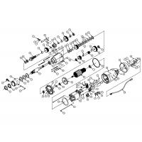 Diamond Products CB748 Motor Parts Breakdown