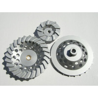 7 inch Swirly Cup Grinder