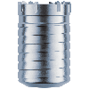"1-1/2"" Carbide Core Bit with 4"" Usable Length (Hollow Core Bit)"