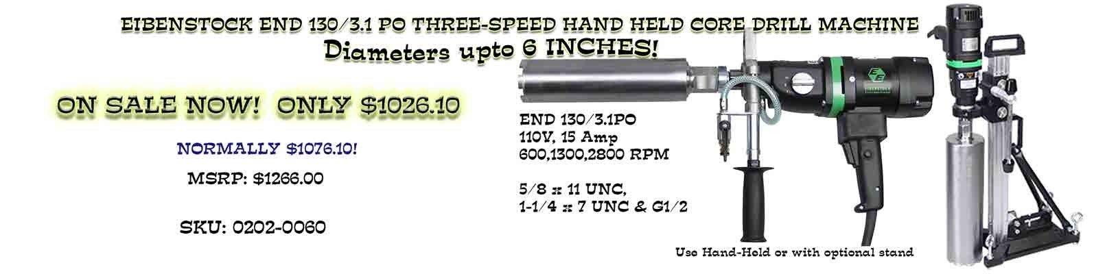 View this Eibenstock 3-Speed Special!