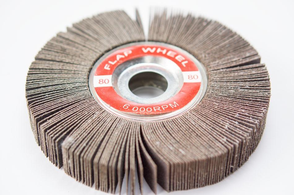 Buy 6 Quot X 1 Quot X 1 Quot Abrasive Flap Wheel For Bench Grinder 80 Grit
