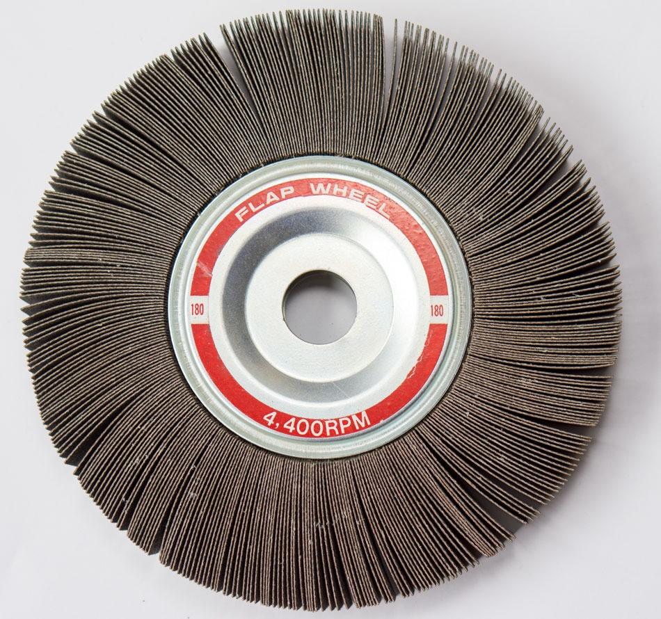 8 Quot X 1 Quot X 1 Quot Abrasive Flap Wheel Bench Grinder 60 Grit