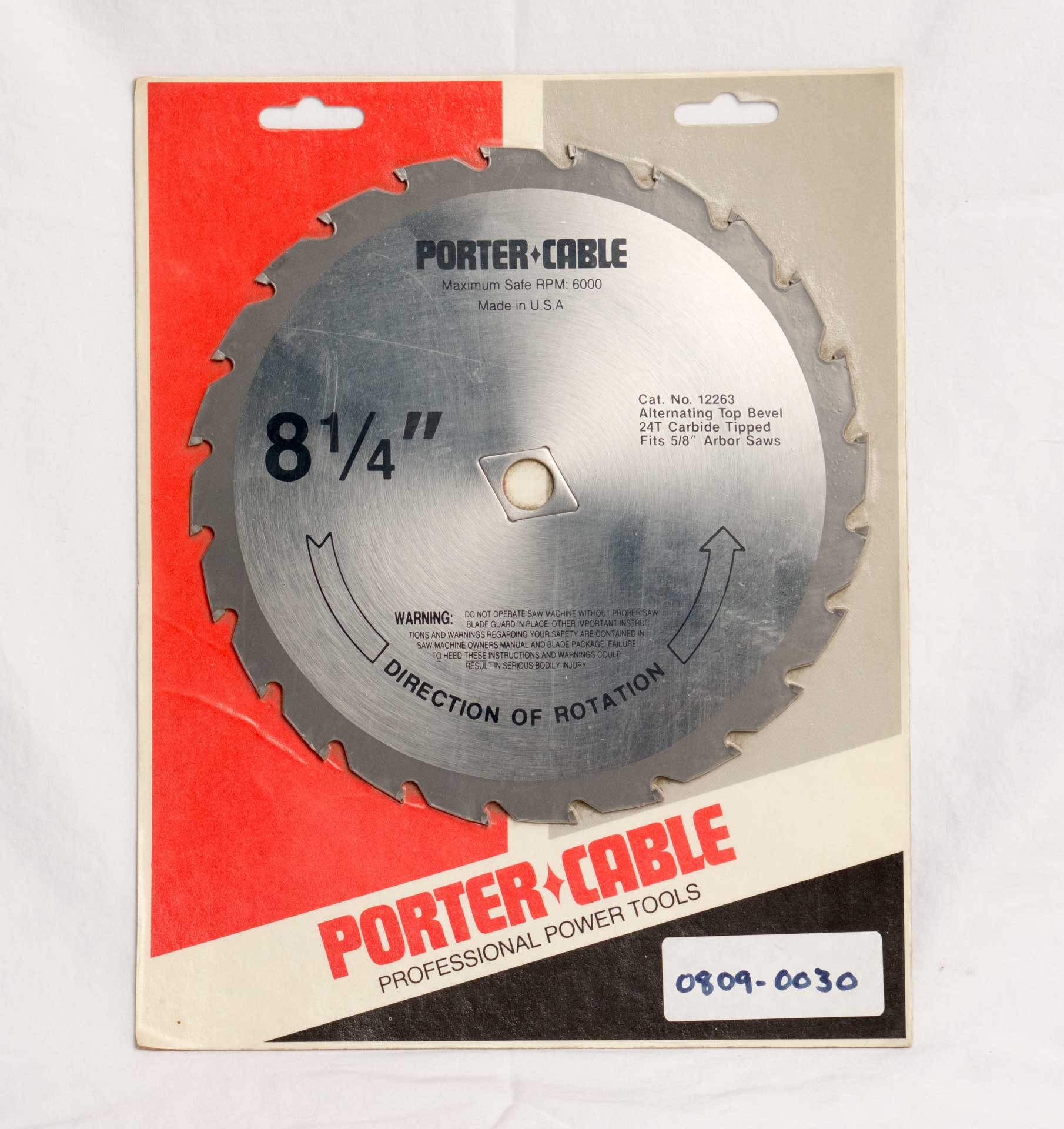 Porter cable 8 14 24 tooth atb carbide keyboard keysfo Images