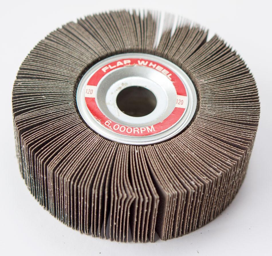 Buy 6 Quot X 2 Quot X 1 Quot Abrasive Flap Wheel For Bench Grinder 180
